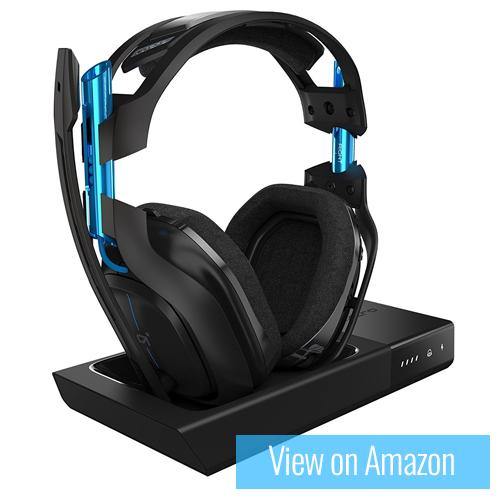 Best Gaming Headset - Astro Gaming A50 Wireless Headset