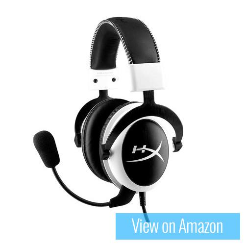 Best Gaming Headset - Kingston HyperX Cloud - White