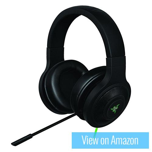Best Gaming Headset - Razer Kraken USB Surround Sound Gaming Headset