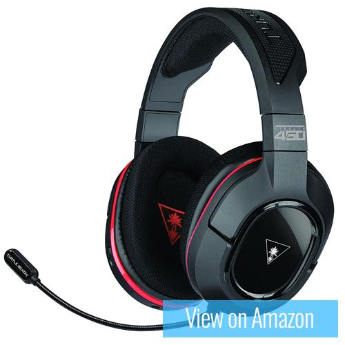 Best Gaming Headset - Turtle Beach Stealth 450 Wireless Gaming Headset DTS Headphone