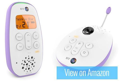 BT Digital Audio Baby Monitor 450 Lightshow