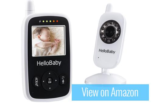 HelloBaby HB24 Wireless Video Baby Monitor