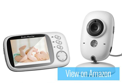 LESHP Wireless LCD Video Baby Monitor
